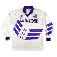 1990-91 Fiorentina maglia away L (top)  SHIRT MAILLOT TRIKOT