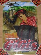 Dominion Promo Poster print Gigis Farmhouse craft beer brewing brewery