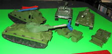 Nice Lot Of Vintage Mpc Us Army Vehicles.