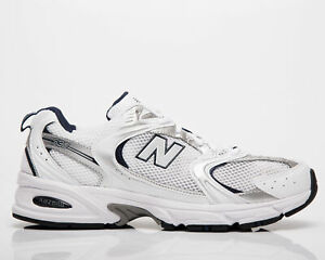 New Balance 530 Men's White Natural Indigo Grey Casual Lifestyle Sneakers Shoes