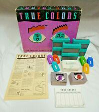 Vintage The Game Of True Colors - EUC - 98% COMPLETE - Milton Bradley - 1990