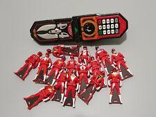 Kaizoku Sentai Gokaiger Mobilates Red Ranger Key Set of 15 Power Rangers Bandai