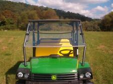 John Deere HPX 625i,825i S4 Tinted Folding Windshield - 1/4 THICK Polycarbonate!