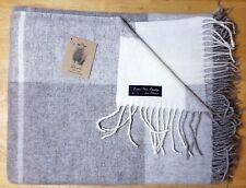 Extra Soft Sofa Bed Wool Throw Blanket 100% Fine  Merino Wool 140 x 200 Double