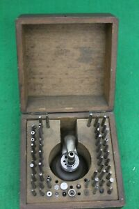 G.Boley Watchmakers Boxed Staking Set, Requires Minor Repair