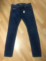 NWD Mens Diesel THOMMER Stretch Denim 084QP BLUE Slim W32 L32 H6 RRP£150