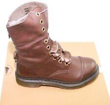 Dr. Martens Aimilita 20212201 Darkened Mirage Brn Lace Up Boots Sz 8/UK 6 NIB