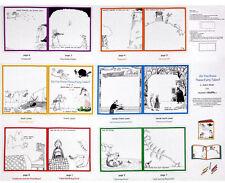 Elizabeths Studio ~ Do You Know Fairy Tales ~ 100% Cotton Fabric Book Panel