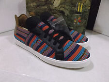 NEW ADIDAS ELASTIC LACE UP  MEN'S   ATHLETIC SHOES SIZE 12  MULTICOLORED  AQ4918