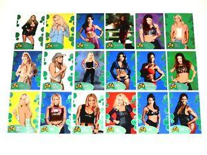 2001 FLEER WWF THE ULTIMATE DIVAS COLLECTION 85 BASE CARD SET TRISH STRATUS!