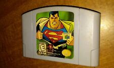 Superman (Nintendo 64, 1999) N64 Authentic Cartridge only