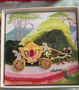 Disney Cinderella Storybook Carriage Pin