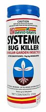 Systemic Bug Killer 250g David Grays Aphids Beetle Pest Insecticide Imidacloprid
