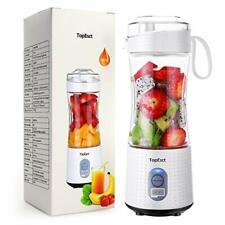 TOPESC Portable USB Blender for Smoothies Shakes,Mini Fruit Juicer Maker Bottle