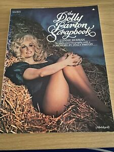 The Dolly Parton Scrapbook Paperback Book By Connie Berman 1978