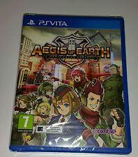 Aegis of Earth Protonovus Assault PS Vita New Sealed UK PAL Sony Playstation PSV