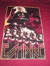4xl Maroon Darth Vader Empire Disney Tee Shirt NWT