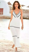 Kaleidoscope Ladies Maxi Holiday Summer Dress Size 12 Beach Cover Up New