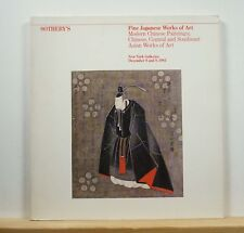 Sotheby's Modern Chinese Paintings Works of Art Catalog 12/8/1983 Japanese Asian