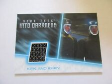 2017 Star Trek Beyond Trading Cards Kirk Khan Spacejump Suit Relic Costume RC13