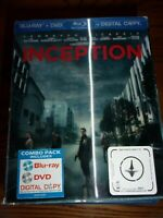 INCEPTION - BLU-RAY/SPECIAL FEATURES/DVD - 3D SLIPCOVER - VERY GOOD CONDITION!!