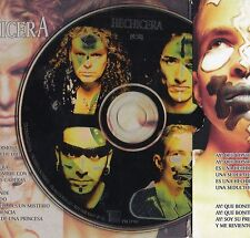 """MANÁ / FHER """"HECHICERA"""" ULTRA RARE MEXICAN PROMO CD WITH AMERICAN TOUR DATES"""