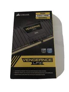 Neuf / CORSAIR Vengeance LPX 2x 8 Go DDR4 SDRAM, 3200 MHz - Noire...