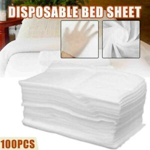 100PCS Disposable Couch Cover For Massage Tables Bed Beauty Treatment New