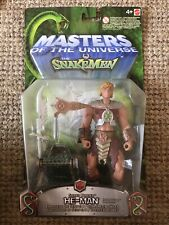 2003 MODERN SERIES MOTU HE-MAN MASTERS OF THE UNIVERSE VS SNAKEMEN He-Man