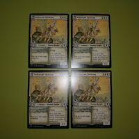 x4 Ardenvale Tactician //// Dizzying Swoop ELD MTG Eldraine 5//269 COMMON M//NM 4x