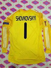 MATCH WORN T-shirt of FC Dynamo Kiev, KYEV.Europa League. Original-Size XL