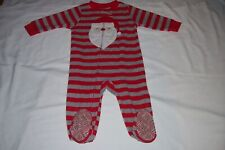 Just One You Boys 12 Months 1 Piece Soft Warm Winter Footed Pajama