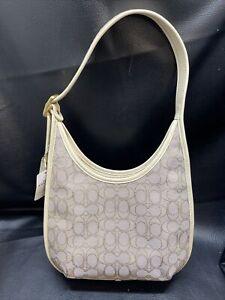 Coach Ergo Shoulder Bag In Signature Jacquard Stone/Ivory Messenger Bag