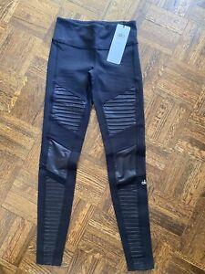 Alo Yoga Moto Legging Black Size XS