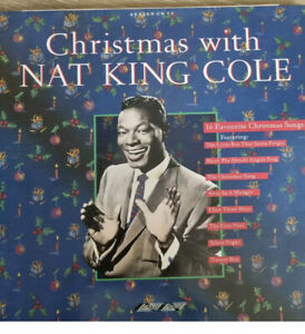 Christmas With NAT KING COLE VINYL 1988. EmI records SMR 868
