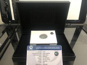 Mystic Quarz Oval 30,50 Carat mit Box und Zertifikat