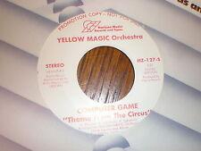 Yellow Magic Orchestra 45 Computer Game HORIZON PROMO