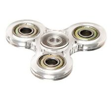 transparent heavy duty fidget spinner stress reduce toy (FREE SHIPPING)