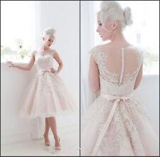 Lace Boat Neck Sleeve Wedding Dresses