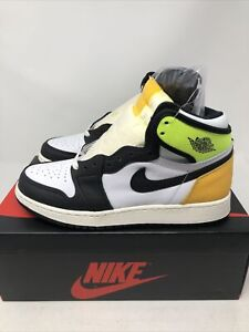 Nike Air Jordan 1 Retro High OG Volt Gold GS 575441-118 Size 6y🔥 IN HAND🔥