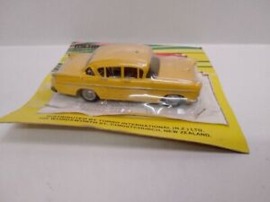 MICRO MODELS P.A. VAUXHALL in yellow distributed by Torro International  NZ NBP