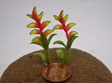 Flor Ave Del Paraíso escala 1:12 casa de muñecas en miniatura, jardín de flores (Y2)