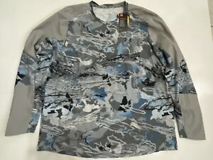 UNDER ARMOUR MEN'S 3XL HYDRO CAMO COOLSWITCH FISHING SHIRT NWT