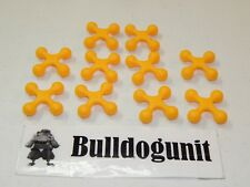 2004 Cranium Cadoo Board Game Replacement All 10 Yellow Token Parts Only