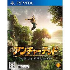 Japan Playstation Vita PS Vita PSV Uncharted