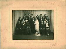 Photo ancienne mariage Manceau année 1930 Photographe André Dufour le Mans