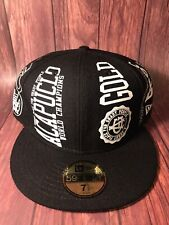 VERY RARE ACAPULO GOLD NEW ERA FITTED  Sz: 7 5/8