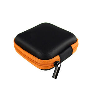 Case Pouch Storage Bag For Earphone Headphone Earbuds Cable Disk Portable Box