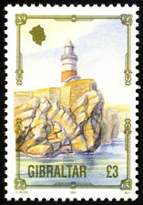 Single Decimal Gibraltar Stamps