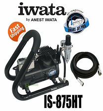 Iwata IS875HT Smartjet Plus Airbrush Air Compressor Tank Handle Spray Gun
